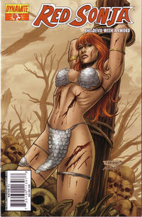 Cover Thumbnail for Red Sonja (Dynamite Entertainment, 2005 series) #43 [Cover A]