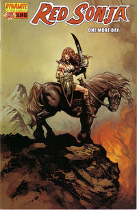 Cover Thumbnail for Red Sonja: One More Day (Dynamite Entertainment, 2005 series)  [Cover A]