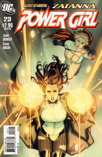 Cover Thumbnail for Power Girl (DC, 2009 series) #23