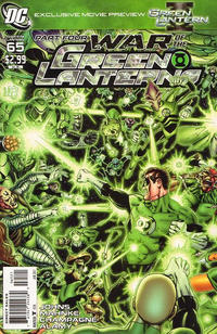 Cover Thumbnail for Green Lantern (DC, 2005 series) #65 [George Pérez Variant Cover]
