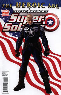 Cover Thumbnail for Steve Rogers: Super-Soldier (Marvel, 2010 series) #1 [Second Printing]