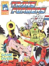 Cover Thumbnail for Transformers (Marvel UK, 1984 series) #222
