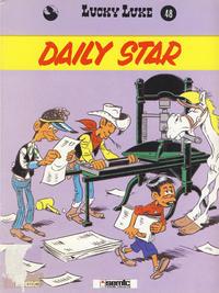 Cover Thumbnail for Lucky Luke (Semic, 1977 series) #48 - Daily Star [1. opplag]