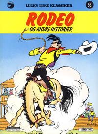 Cover Thumbnail for Lucky Luke (Semic, 1977 series) #56 - Rodeo og andre historier