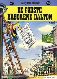 Cover Thumbnail for Lucky Luke (Semic, 1977 series) #39 - De første brødrene Dalton [1. opplag]