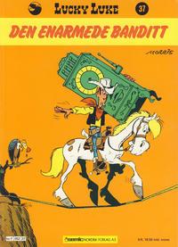 Cover Thumbnail for Lucky Luke (Semic, 1977 series) #37 - Den enarmede banditt [1. opplag]