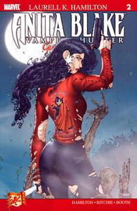 Cover Thumbnail for Anita Blake: Vampire Hunter in Guilty Pleasures (Marvel, 2006 series) #2 [Second Printing]