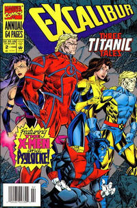 Cover Thumbnail for Excalibur Annual (Marvel, 1993 series) #2 [Newsstand]