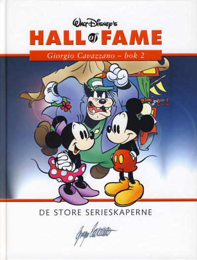Cover for Hall of Fame (Hjemmet / Egmont, 2004 series) #[37] - Giorgio Cavazzano 2