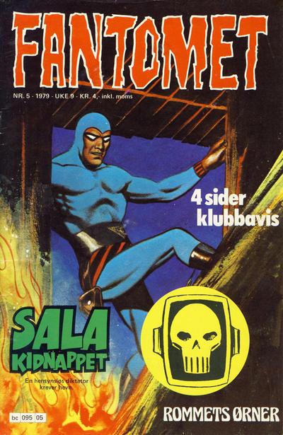 Cover for Fantomet (Semic, 1976 series) #5/1979