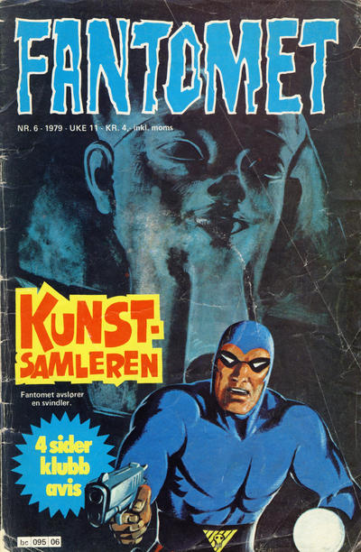 Cover for Fantomet (Semic, 1976 series) #6/1979