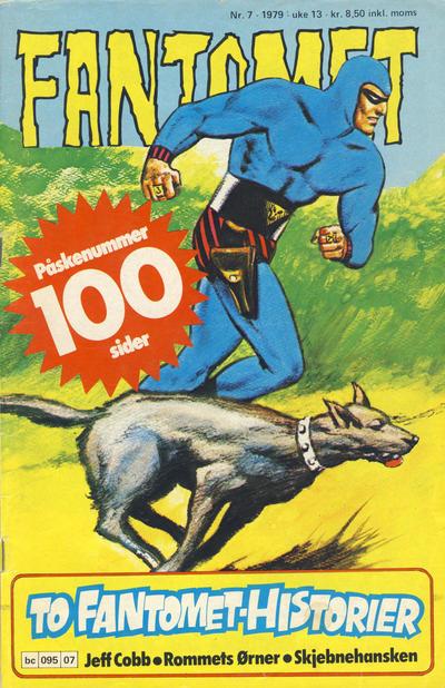 Cover for Fantomet (Semic, 1976 series) #7/1979