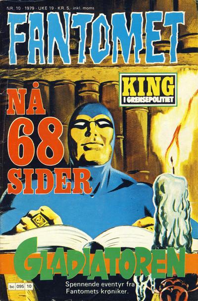 Cover for Fantomet (Semic, 1976 series) #10/1979