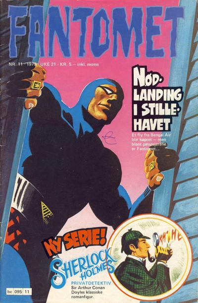 Cover for Fantomet (Semic, 1976 series) #11/1979