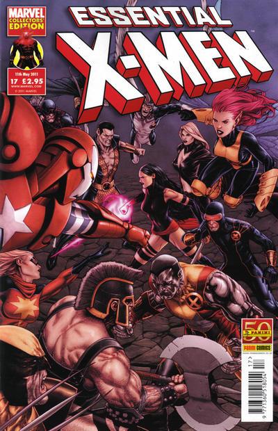 Cover for Essential X-Men (Panini UK, 2010 series) #17