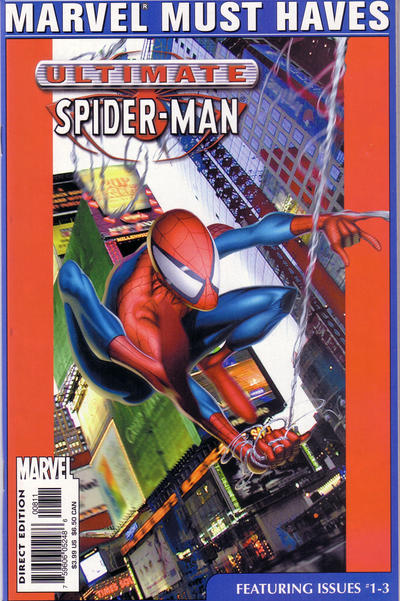 Cover for Marvel Must Haves: Ultimate Spider-Man #1–3 (Marvel, 2003 series)  [Ultimate Spider-Man #1-3]
