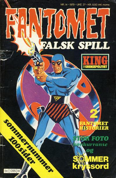 Cover for Fantomet (Semic, 1976 series) #14/1979