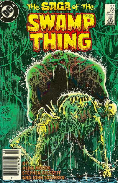 Cover for The Saga of Swamp Thing (DC, 1982 series) #28 [Direct]