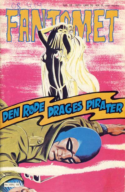 Cover for Fantomet (Semic, 1976 series) #18/1979