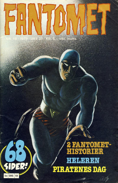 Cover for Fantomet (Semic, 1976 series) #19/1979