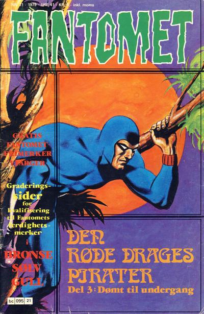 Cover for Fantomet (Semic, 1976 series) #21/1979
