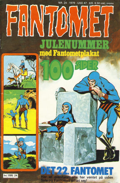 Cover for Fantomet (Semic, 1976 series) #24/1979