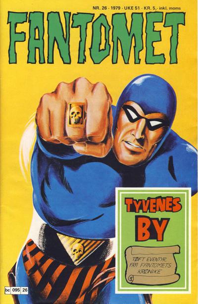 Cover for Fantomet (Semic, 1976 series) #26/1979