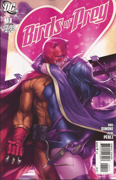 Cover for Birds of Prey (DC, 2010 series) #11
