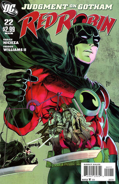 Cover for Red Robin (DC, 2009 series) #22