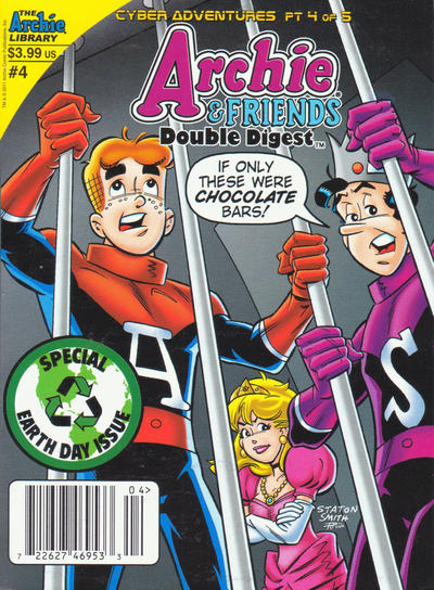Cover for Archie & Friends Double Digest Magazine (Archie, 2011 series) #4 [Newsstand]