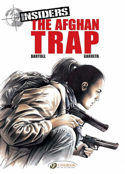 Cover for Insiders (Cinebook, 2009 series) #3 - The Afghan Trap
