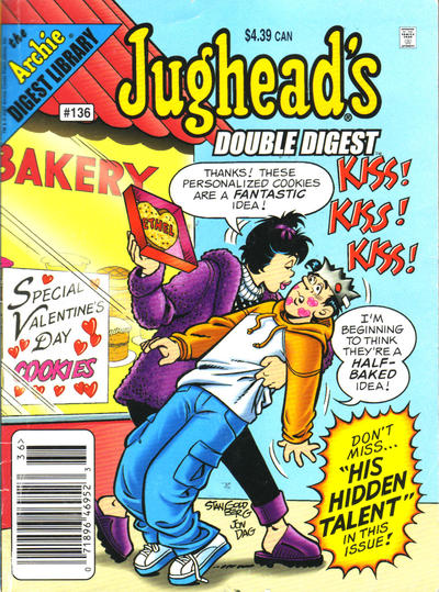 Cover for Jughead's Double Digest (Archie, 1989 series) #136 [Newsstand]
