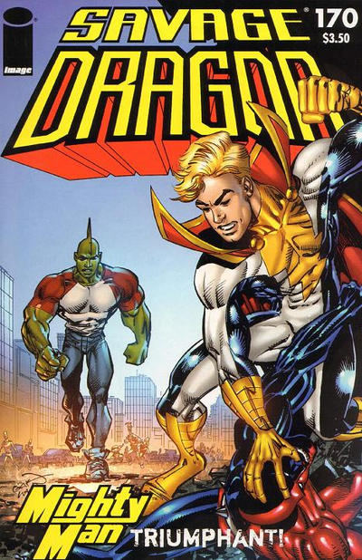 Cover for Savage Dragon (Image, 1993 series) #170