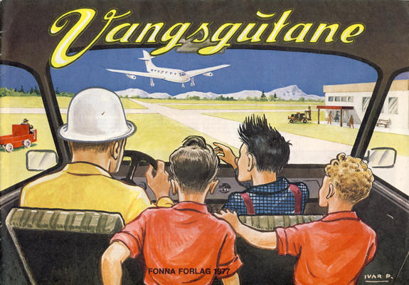 Cover for Vangsgutane (Fonna Forlag, 1941 series) #1977