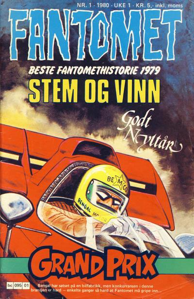 Cover for Fantomet (Semic, 1976 series) #1/1980