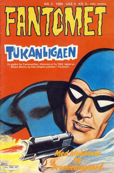 Cover for Fantomet (Semic, 1976 series) #2/1980