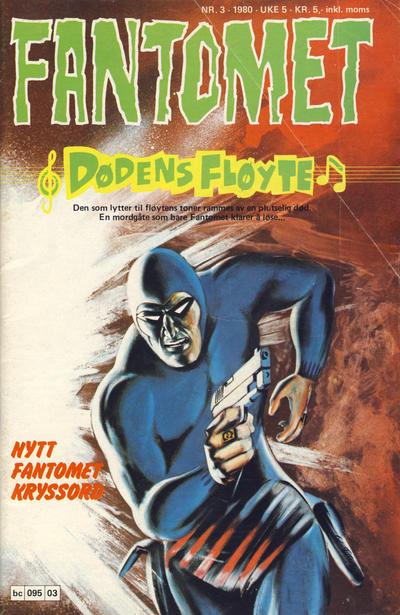 Cover for Fantomet (Semic, 1976 series) #3/1980