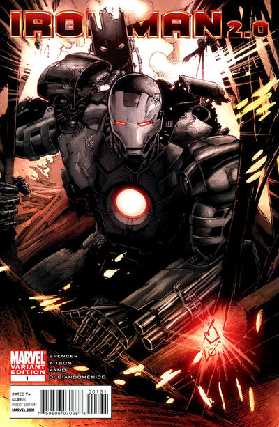 Cover for Iron Man 2.0 (Marvel, 2011 series) #1