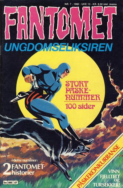 Cover for Fantomet (Semic, 1976 series) #7/1980