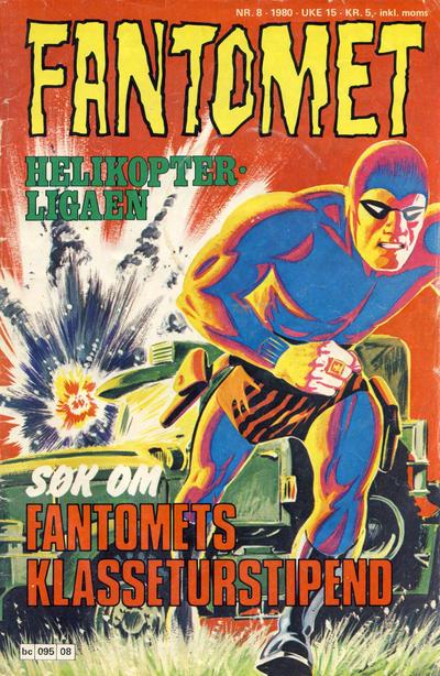Cover for Fantomet (Semic, 1976 series) #8/1980