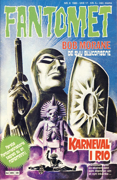 Cover for Fantomet (Semic, 1976 series) #9/1980