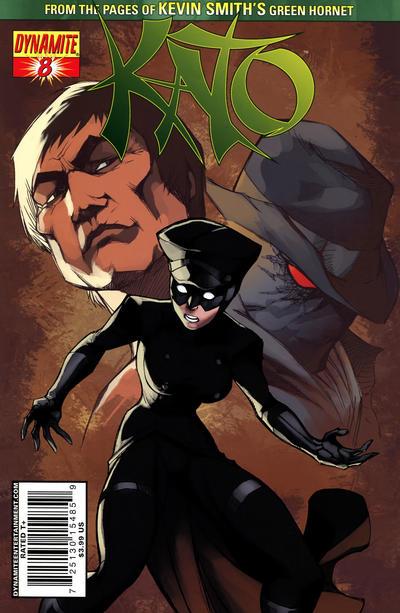 Cover for Kato (Dynamite Entertainment, 2010 series) #8 [Ale Garza Sketch Cover]