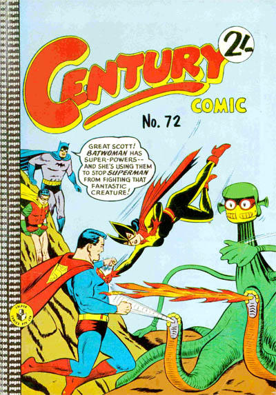 Cover for Century Comic (K. G. Murray, 1961 series) #72