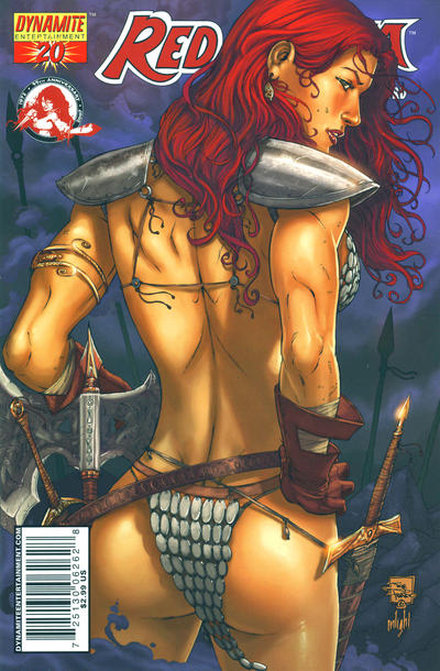 Cover for Red Sonja (Dynamite Entertainment, 2005 series) #20 [Homs Cover]