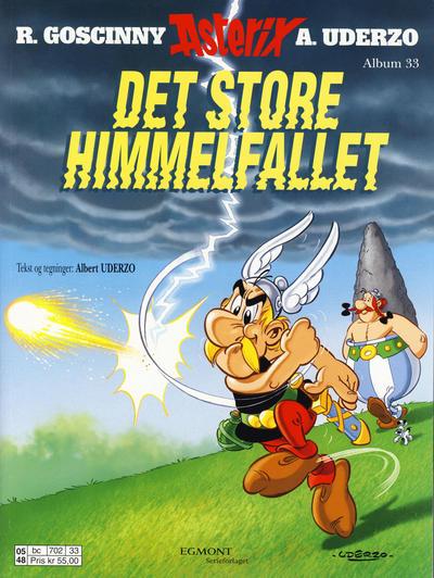Cover for Asterix (Hjemmet / Egmont, 1969 series) #33 - Det store himmelfallet [Reutsendelse bc 702 99]