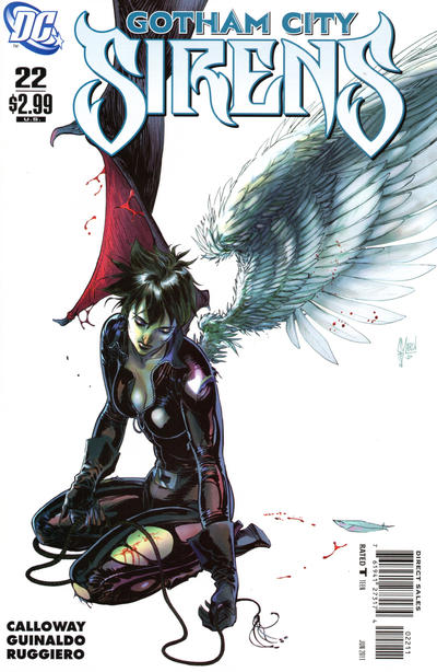 Cover for Gotham City Sirens (DC, 2009 series) #22