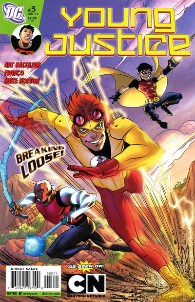 Cover for Young Justice (DC, 2011 series) #3