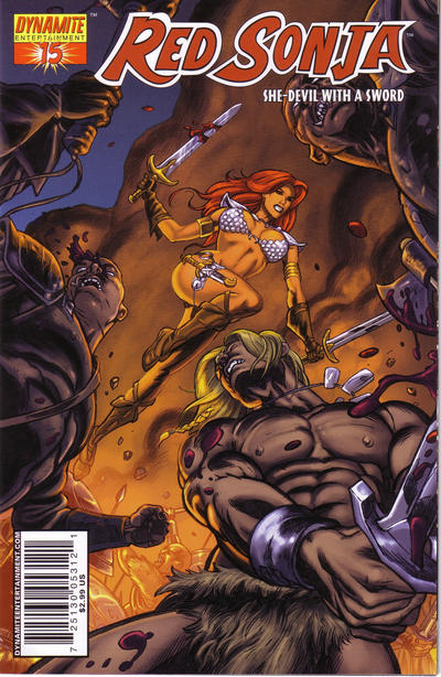 Cover for Red Sonja (Dynamite Entertainment, 2005 series) #15 [Stephen Sadowski Cover]