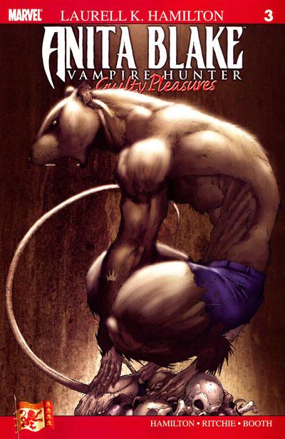 Cover for Anita Blake: Vampire Hunter in Guilty Pleasures (Marvel, 2006 series) #3