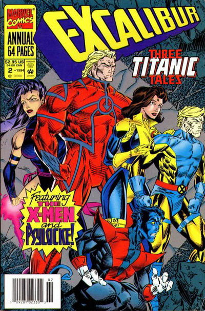 Cover for Excalibur Annual (Marvel, 1993 series) #2 [Direct Edition]